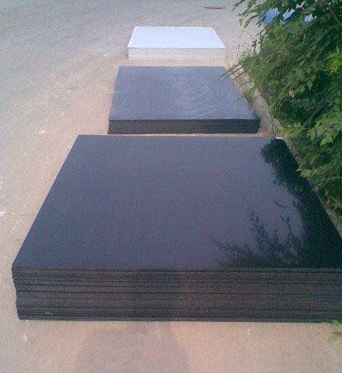 产品名称:黑色PP阻燃板