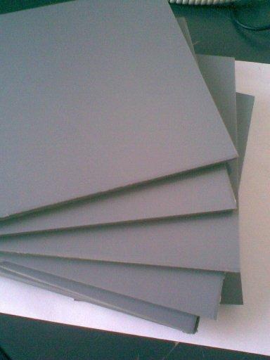 产品名称:PVC灰色板